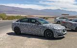 Jaguar XE 2019 spies side double