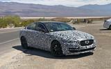 Jaguar XE 2019 spies side