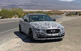 Jaguar XE 2019 spies front side