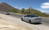 Jaguar XE 2019 spies rear double