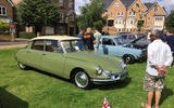 Hampton Village Classic Car Show Citroen DS