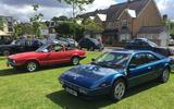 Hampton Village Classic Car Show Ferrari Mondial