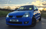 Life with a used Renaultsport Clio 182 – getting strapped in, finally