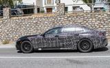 Alpina B8 Gran Coupe spyshots