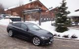 BMW 435d xDrive Gran Coupé cornering