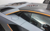 LAMBORGHINI AVENTADOR S: Decal is another clue as to the car's inspiration