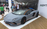 LAMBORGHINI AVENTADOR S: One-off colour scheme was created for Goodwood