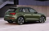 2020 Audi Q5 facelift - static rear