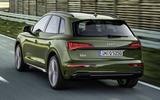 2020 Audi Q5 facelift - rear