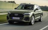 2020 Audi Q5 facelift - hero front