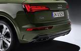 2020 Audi Q5 facelift - rear bumper