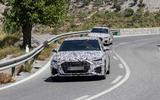 Audi S3 saloon front