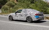 Audi S3 saloon rear side