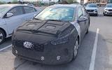 Hyundai Ioniq facelift spyshots front