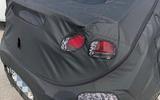 Hyundai Ioniq facelift spyshots rear close up
