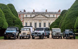 2021 Ineos Grenadier and 4x4 icons at Hampton Court - static
