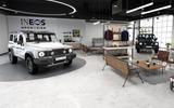 INEOS Grenadier   retail concept