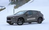 BMW iNext winter testing spies 1