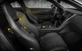 Infiniti Project Black S Paris motor show reveal interior