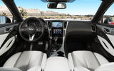 Infiniti Q60 S 3.0T Sport Tech dashboard