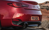 Infiniti Q60 S 3.0T Sport Tech exhaust