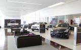 Infiniti UK dealer - interior