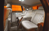 Rolls-Royce Phantom VIII rear seats