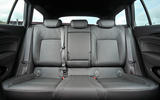Vauxhall Insignia Sports Tourer rear seats