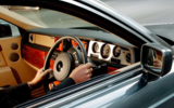 Rolls-Royce Phantom VIII driver's view