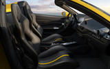 2020 Ferrari F8 Spider reveal - static interior