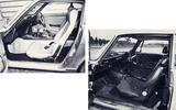 Datsun 240Z and Alfa Romeo 2000 GTV interiors
