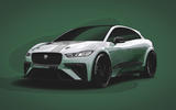 Autocar imagines the Jaguar I-Pace SVR