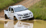 Isuzu D-Max Arctic Trucks AT35 wading