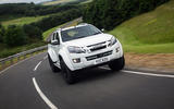 Isuzu D-Max Arctic Trucks AT35 cornering