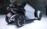 Toyota i-TRIL previews autonomous electric city car