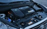 Hyundai ix35 FCV engine bay