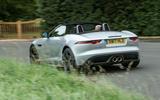 Jaguar F-Type 400 Sport rear