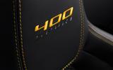 Jaguar F-Type 400 Sport stitching
