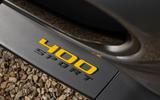 Jaguar F-Type 400 Sport badging