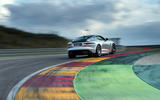 Jaguar F-Type SVR rear cornering