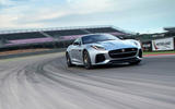 Jaguar F-Type SVR cornering