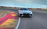 Jaguar F-Type SVR on track