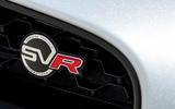 Jaguar F-Type SVR badging