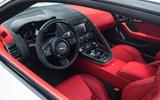 Jaguar F-Type SVR dashboard