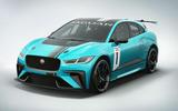 Jaguar I-Pace eTrophy racer