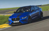 Jaguar XE SV Project 8 2018 UK first drive review - hero front