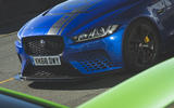 Jaguar XE SV Project 8 2018 UK first drive review - front end