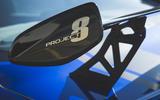 Jaguar XE SV Project 8 2018 UK first drive review - spoiler