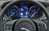 Jaguar XE instrument cluster