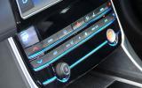 Jaguar XE climate controls
